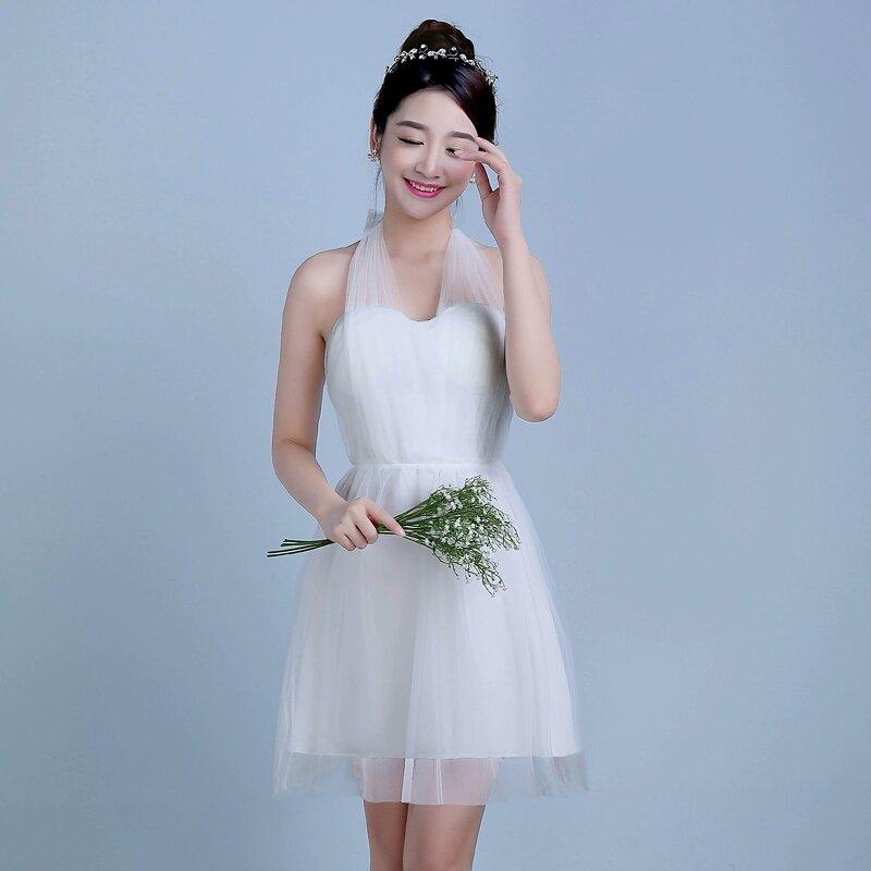 Beautiful Knee Length Versatile Bridesmaid Dress