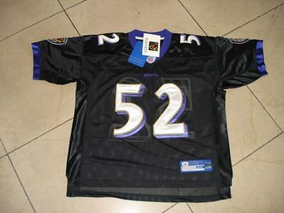 NFL #52 Ray Lewis Ravens jersey size48/50/52/54