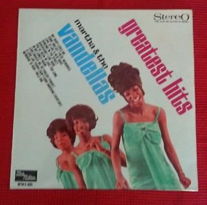 MARTHA & the VANDELLAS Greatest Hits 1967 or. HOLLAND lp in FANTASTIC condition