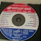 SC8504 COUNTRY HITS - VOL.106 SOUND CHOICE SPOTLIGHT KARAOKE CD+G NM- NO INSERTS