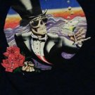 Grateful Dead Shirt T Shirt Vintage ORIGINAL RARE1987 Mouse NYE GDP Large EXCEL