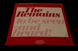 The REMAINS RED VINYL ORIG. 1st PRESS! Picture SLEEVE PROMO RARE! NM- to EX+