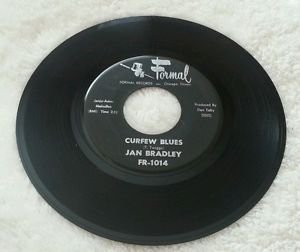 "JAN BRADLEY WE GIRLS / CURFEW BLUES 7"" EX+ FR 1014 Chicago 1962 Northern Soul 45"