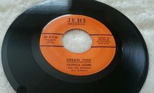 PATRICIA ALDEN With THE DELIGHTS 45 JERI RECORDS RARE ORIG 1st PRESS NM-NM- 1961
