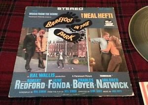 Neal Hefti STEREO LP Barefoot in the Park soundtrack VINYL = NM- AMAZING VINYL!