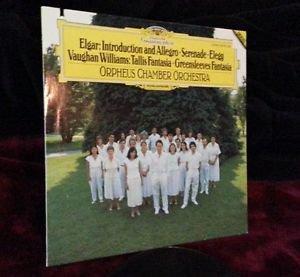ELGAR  WILLIAMS  ORPHEUS CHAMBER ORCHESTRA  LP  DGG DIGITAL 419 191-1