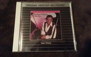 THE ROGER WILLIAM'S COLLECTION - MFSL 1987 USA SILVER MASTER CD RARE EX+/EX+