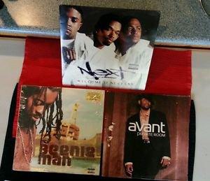 3 LP LOT BEENIE MAN:TROPICAL STORM, NEXT:WELCOME II NEXTASY, AVANT:PRIVATE ROOM