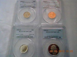 20 PCGS graded coins    ALL PERFECT     PROOF 70 DEEP CAMEO