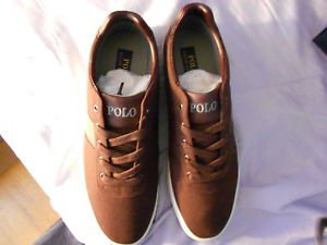 Ralph Lauren POLO Red Canvas Sneakers(Hanford)   Size: 11.5D  New in box