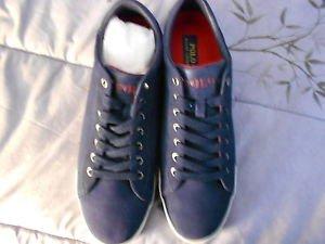 Ralph Lauren POLO Navy Suede Sneakers   US Shoe Size: 11.5D Medium  New in box