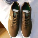 Ralph Lauren POLO Dark Brown Canvas Sneakers(Hanford)  Size: 11.5D  New in box