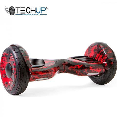 10 inch Red and Black Hummer Hoverboard