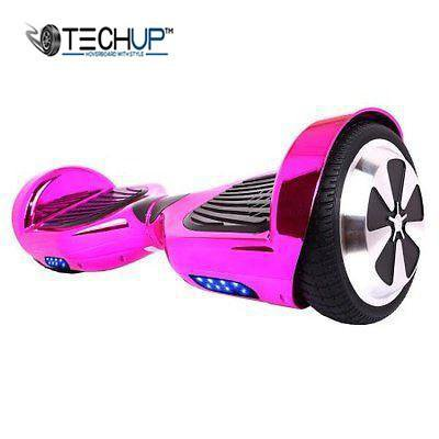 Techup Chrome Purple Hoverboard 6.5 inch