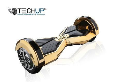 Techup Lamborghini Hoverboard Chrome Gold 8 inch