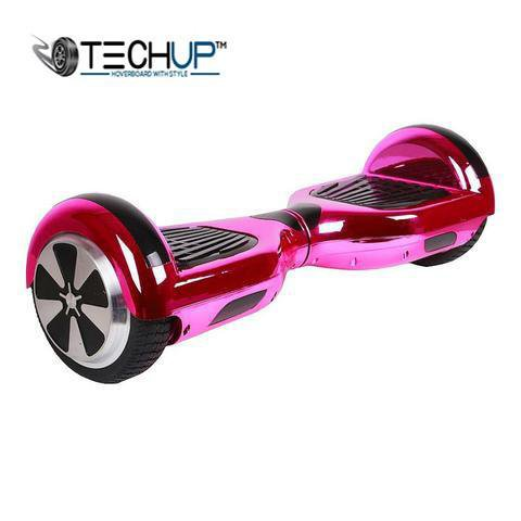 Chrome Pink Hoverboard 6.5 inch