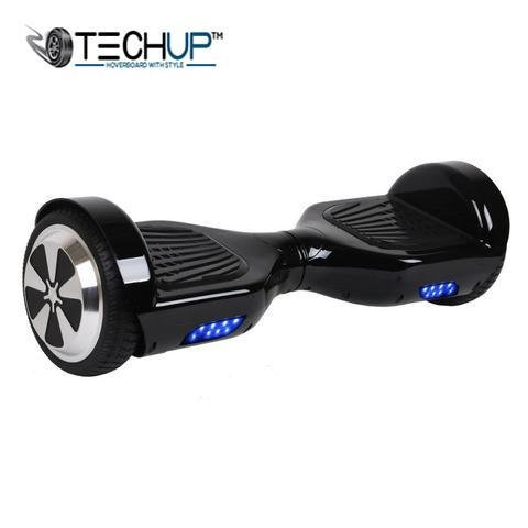 Techup Black 6.5 inch Hoverboard