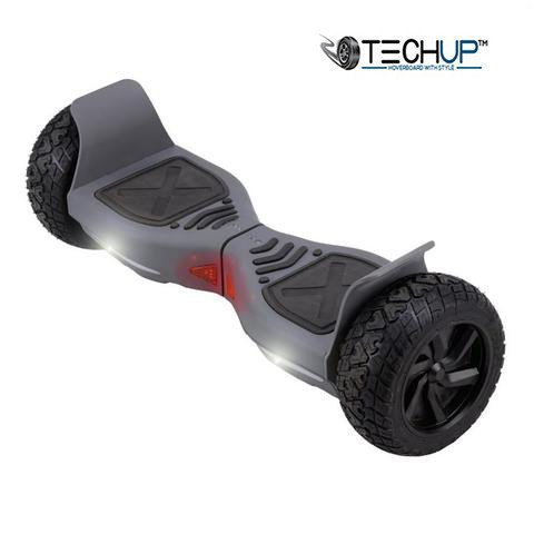 Techup Off Road All Terrain Hoverboard 8 inch  - Space Grey
