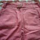 Hong Kong A.Y.K. Hot Pink Jean Skirt