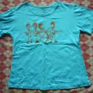 Thailand The Beatles Light Blue Tee