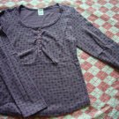 Korea Hamo Purple Polka Dots Tee