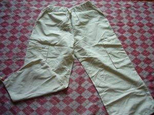 Hong Kong Soft Cream Colour Loose Pants