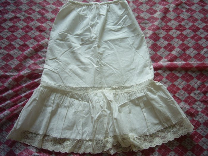Japan White Lace Skirt