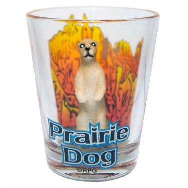 South Dakota Prarire Dog Shotglass