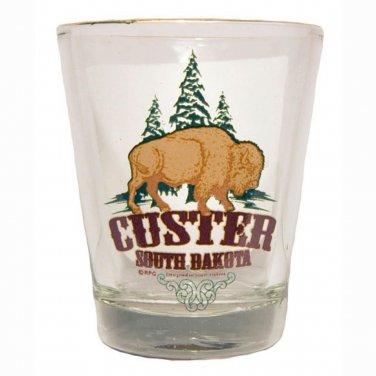 South Dakota Custer state Park shotglass