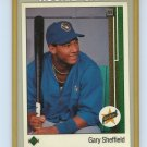 1988-89 Upper Deck Gary Sheffield Rookie Card #13