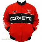 CORVETTE MOTOR SPORT TEAM RACING JACKET size M