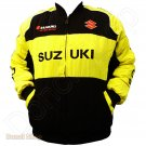 SUZUKI MOTORCYCLE SPORT TEAM RACING JACKET size S