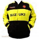 SUZUKI MOTORCYCLE SPORT TEAM RACING JACKET size 2XL