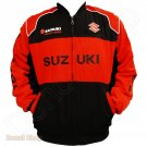 SUZUKI MOTORCYCLE SPORT TEAM RACING JACKET size L