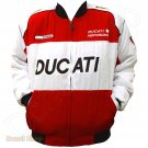 DUCATI MOTORCYCLE SPORT TEAM RACING JACKET size 2XL