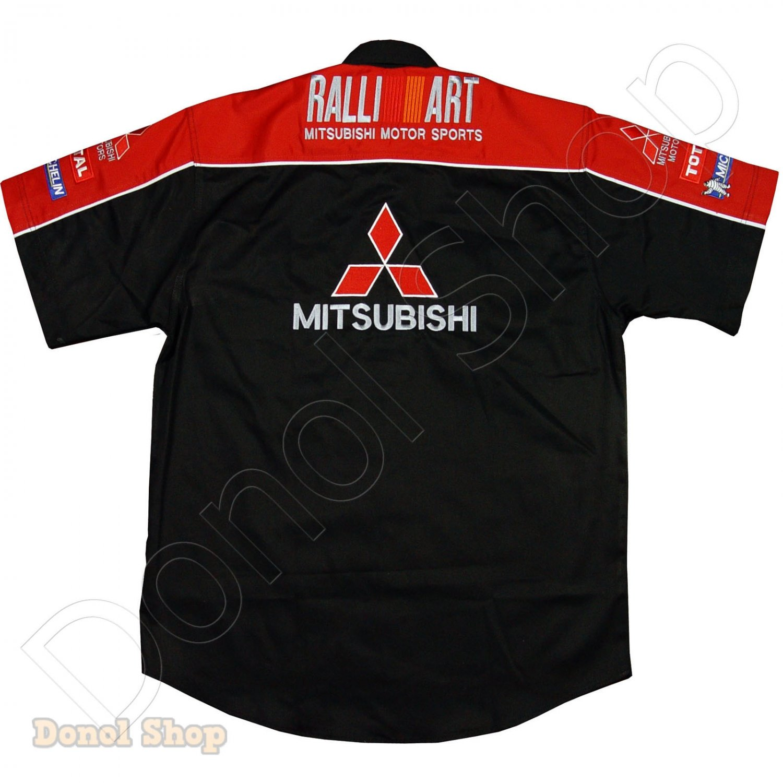 MITSUBISHI MOTOR SPORT TEAM RACING SHIRT size 2XL