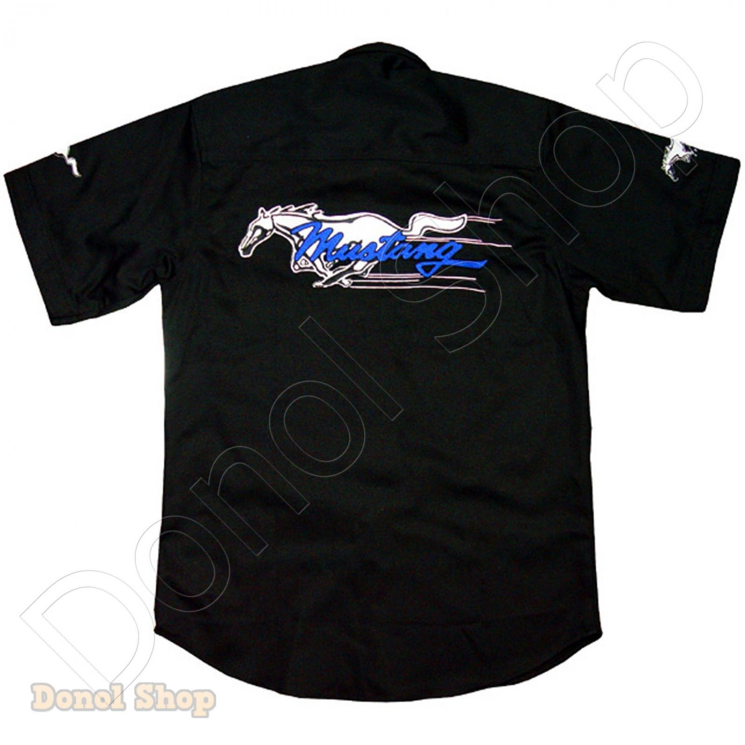 FORD MUSTANG MOTOR SPORT TEAM RACING SHIRT size S