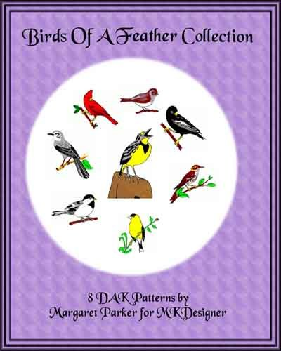 Birds of a Feather Collection Machine Knit DAK ePatterns