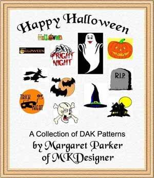 Happy Halloween Machine Knit ePatterns with DAK