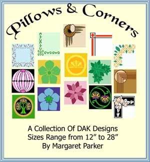 Pillows & Corners - DAK Patterns for Machine Knitting