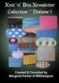 Knit 'n Bits Newsletter Vol.1 Machine Knit Techniques
