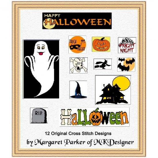 Happy Halloween CROSS STITCH ePatterns HobbyWare Files