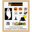 Happy Halloween CROSS STITCH ePatterns HobbyWare Files