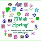 THINK SPRING! Original Floral Designs HK MK Graphs