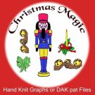 Christmas Magic Knit Patterns - Graphs or PAT files