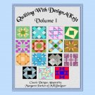 Knit Classic Quilt Patterns V.1 HK Graphs MK DAK