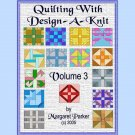Quilt With Design-A-Knit V.3 HK Graphs MK DAK