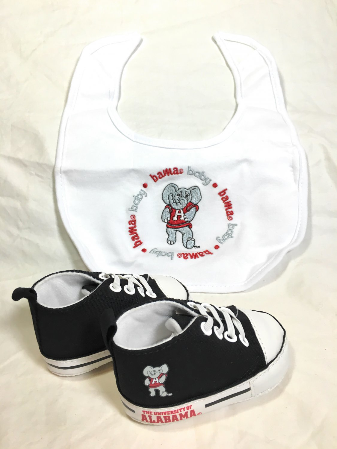 The University of Alabama - Baby Fanatic Bib & Pre-Walkers Gift Set - NEW