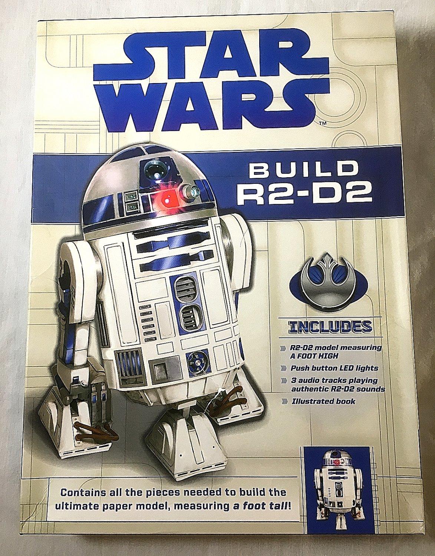 Star Wars - Build R2-D2 - Deluxe Paper-model Kit