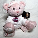 "Harley-Davidson 6"" Plush Pink Teddy Bear - ""Spark Plug"" - NEW w/Tags"